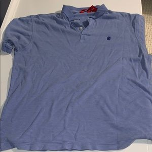 Blue Izod Golf Shirt